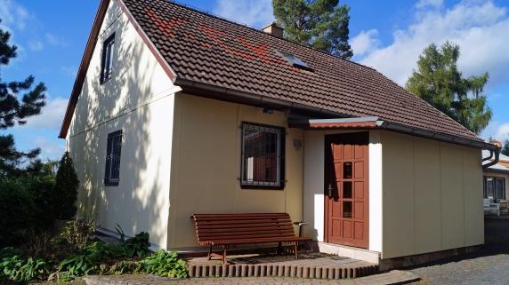 Einladender Hauseingang